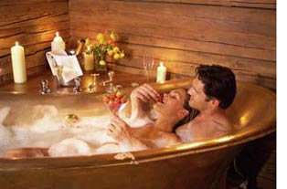 Romantic way to celebrate an anniversary